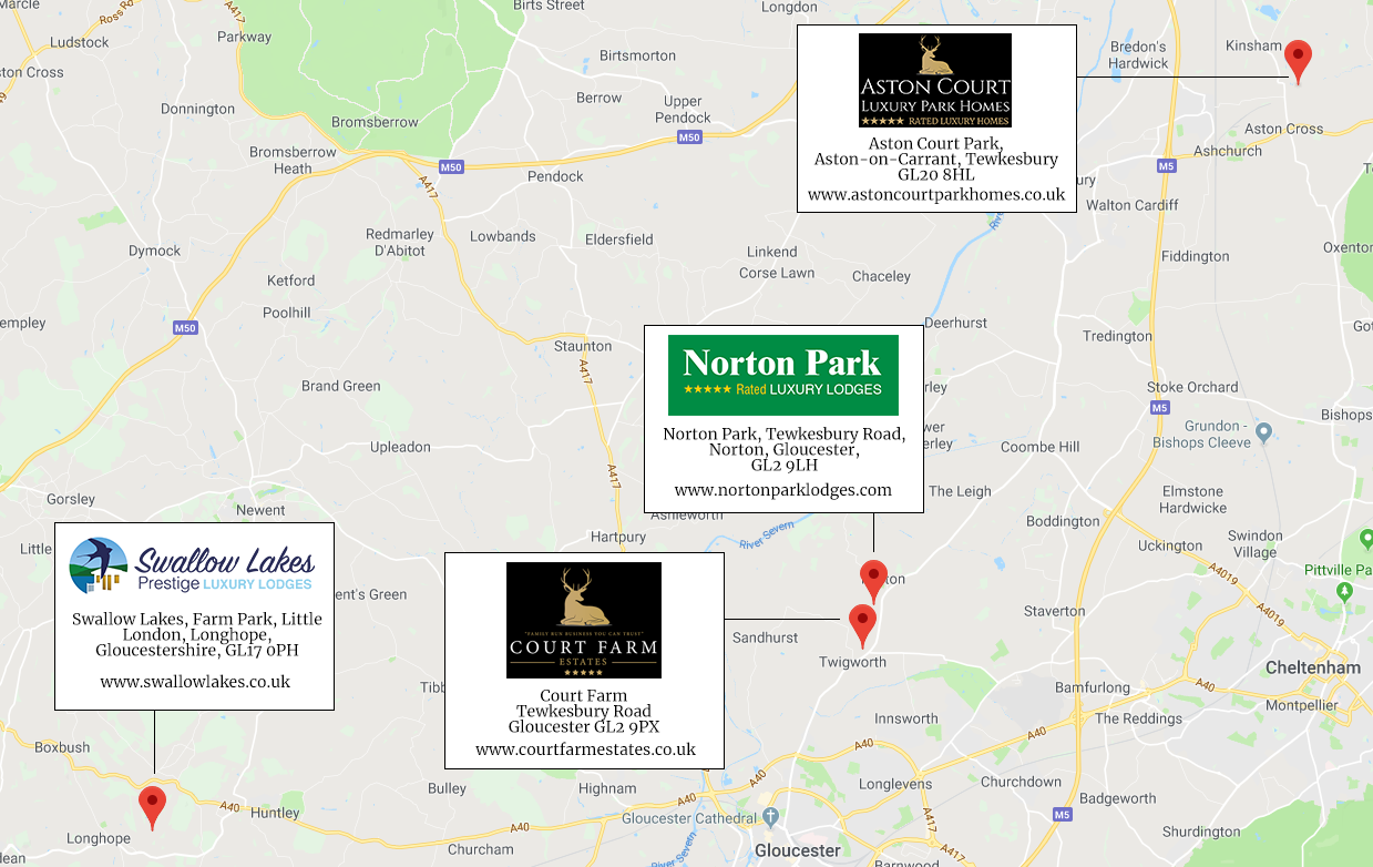 Our locations in Gloucestershire