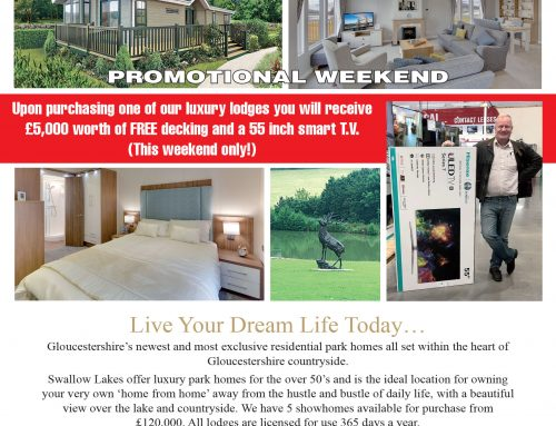 Swallow Lakes Promotional Weekend 14th – 15th September